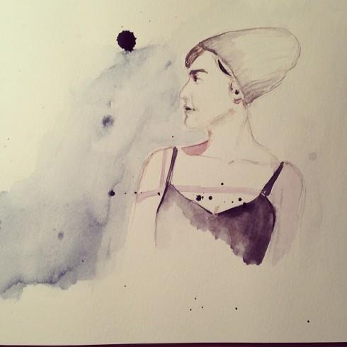 zena s ciapkou