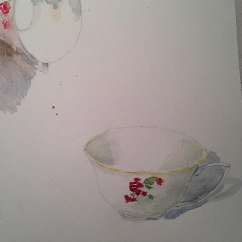 porcelaine cup I